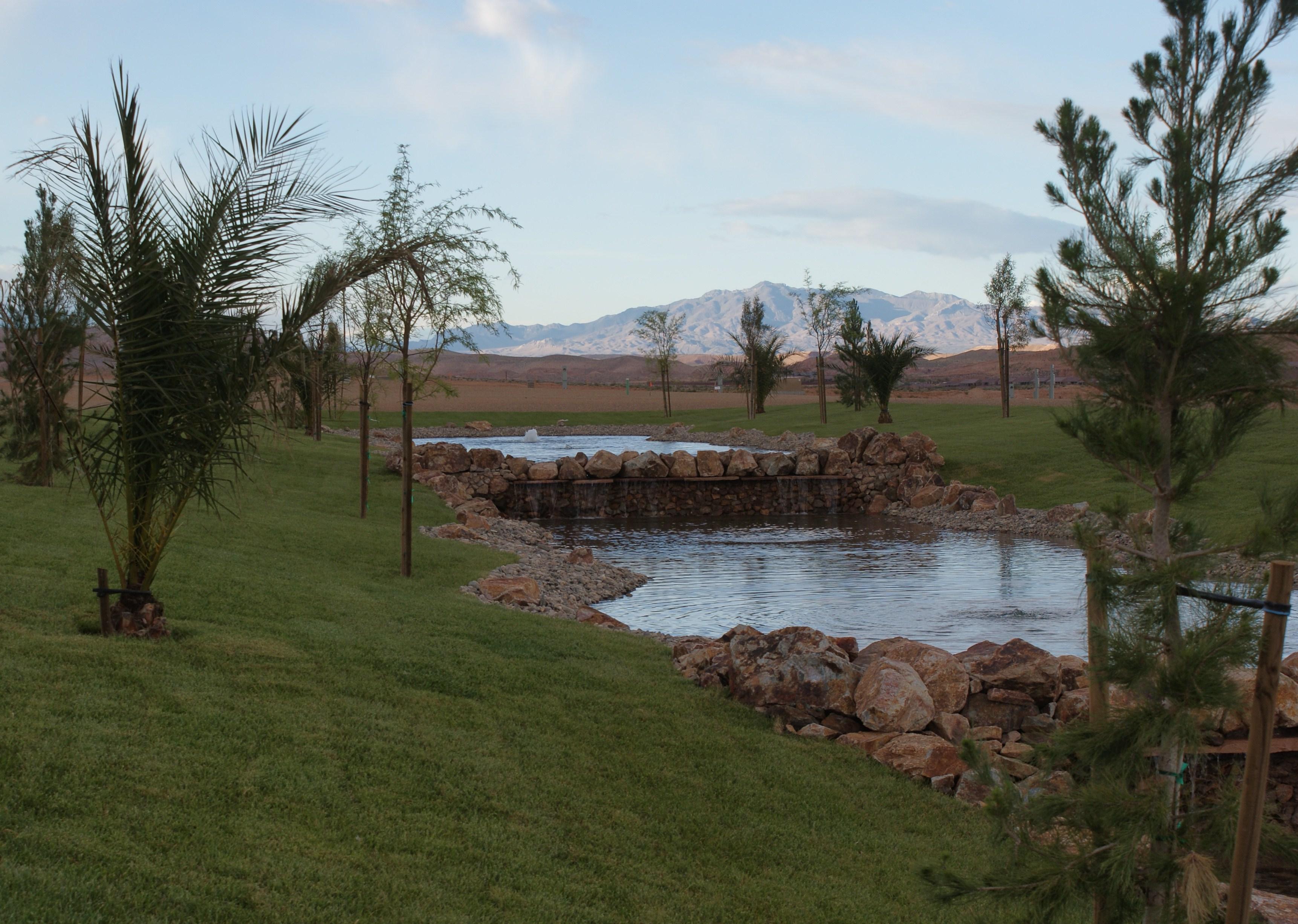 Las Vegas park landscapes
