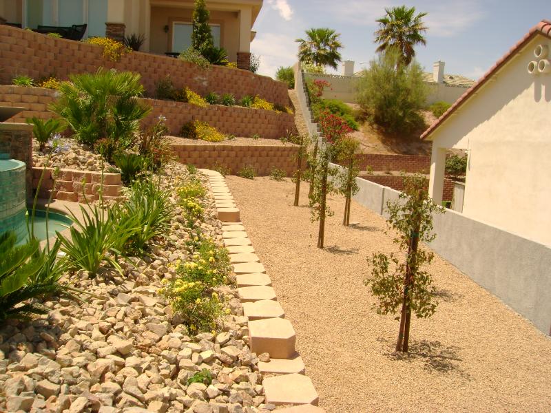 Backyard Desert Landscaping Ideas Las Vegas : Las Vegas Landscaping Dream Portfolios  Desert Springs Landscaping