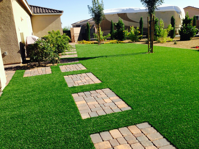pavers, las vegas landscaping - Las Vegas Tropical Landscaping Photos Show Beauty