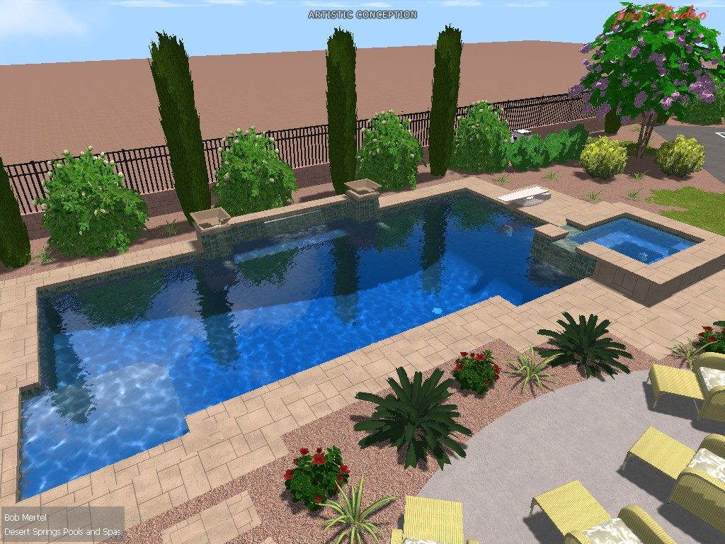 Las Vegas Landscaping 3D Allows You To Envision Your Project!