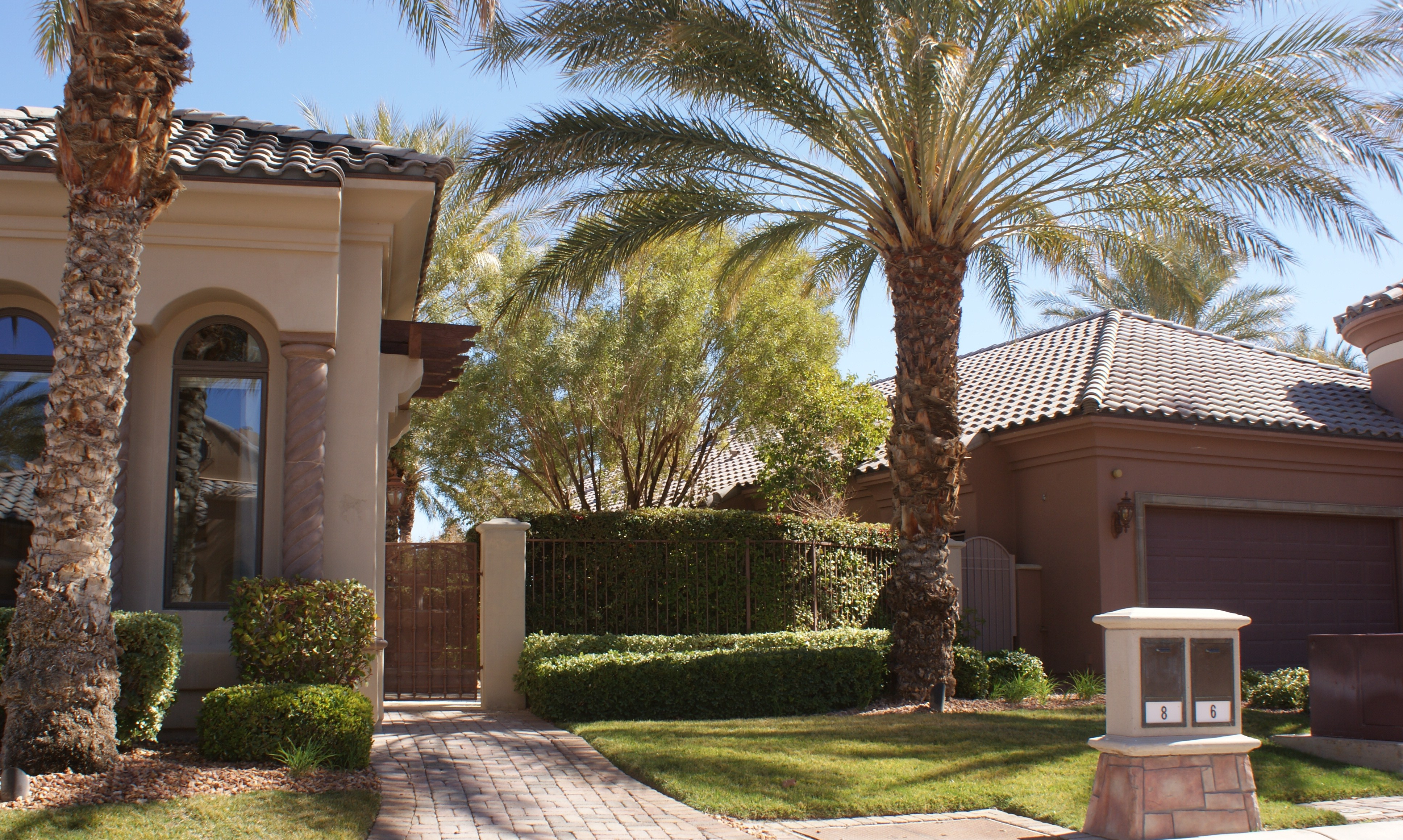 the bottom line make sure your las vegas front yard landscaping is up