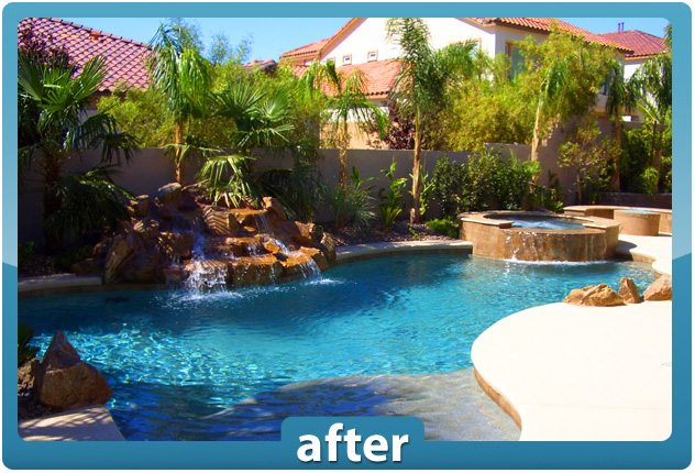 Las Vegas Swimming Pools Renovations And Construction Desert Springs Landscaping Llc