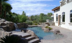 Las Vegas Swimming Pools Construction Video Desert Springs Landscaping Llc
