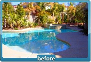 Las Vegas backyard renovations at Desert Springs