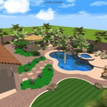 Las Vegas landscaping 3d renderings bring dreams to reality