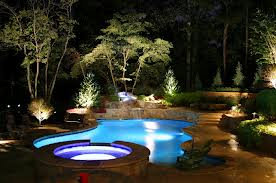 landscape lighting from Desert Springs