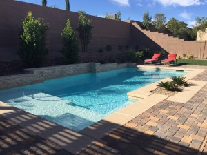 Las Vegas landscaping and swimming pools