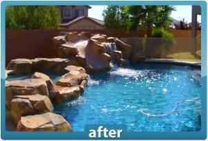 Las Vegas pool and backyard renovations