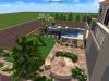 Las Vegas landscape design in 3d