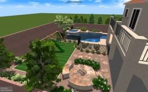 Henderson landscapers offer 3D design