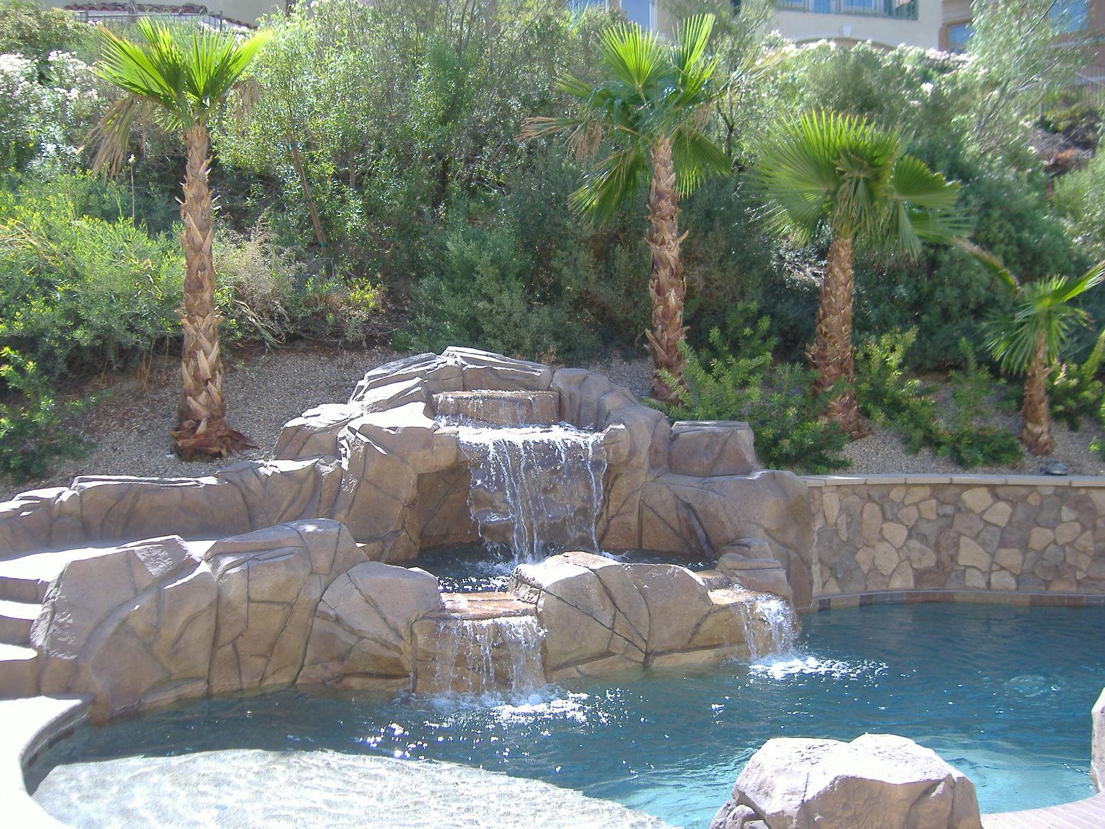Backyard landscaping ideas in Las Vegas on Back Patio Landscape Ideas id=12161